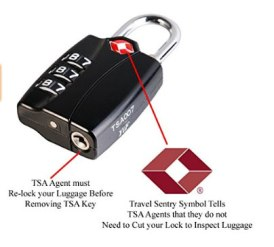 Safety lock for your luggage