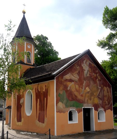 Sebastianskapelle in Garmisch Patenkirchen