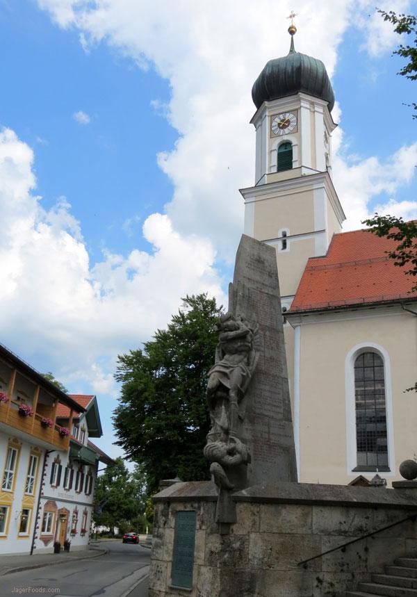 Church In Oberammergau
