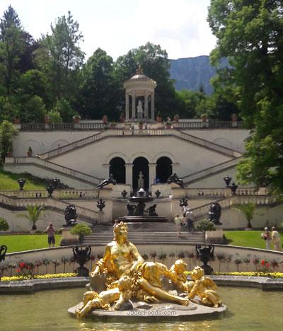Linderhof Estate near Oberammergau