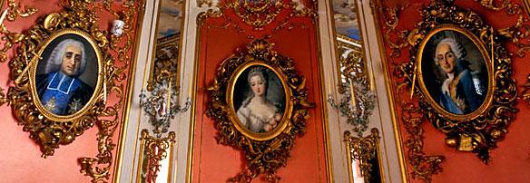 Linderhof Blue Cabinet Room Portraits