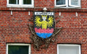 The city of Emden emblem