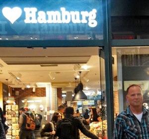 Nick and Silke visit Hamburg, Germany