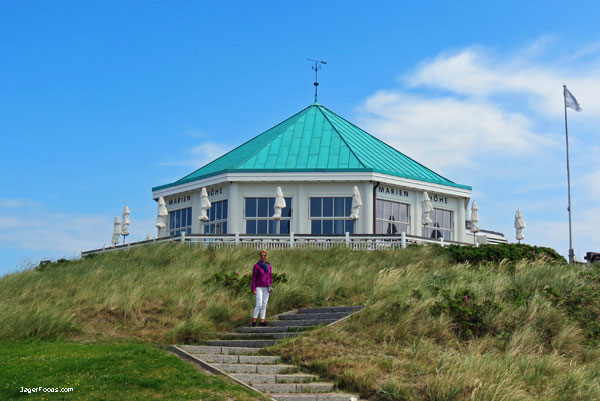 Beautiful Norderney Island in the summer