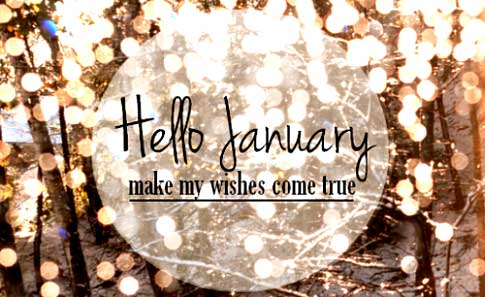 January wishes from Nick and Silke