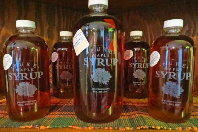Bottled Maple Syrup