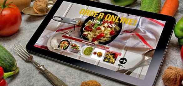 Small business online marketing tips for restaurant businesses.