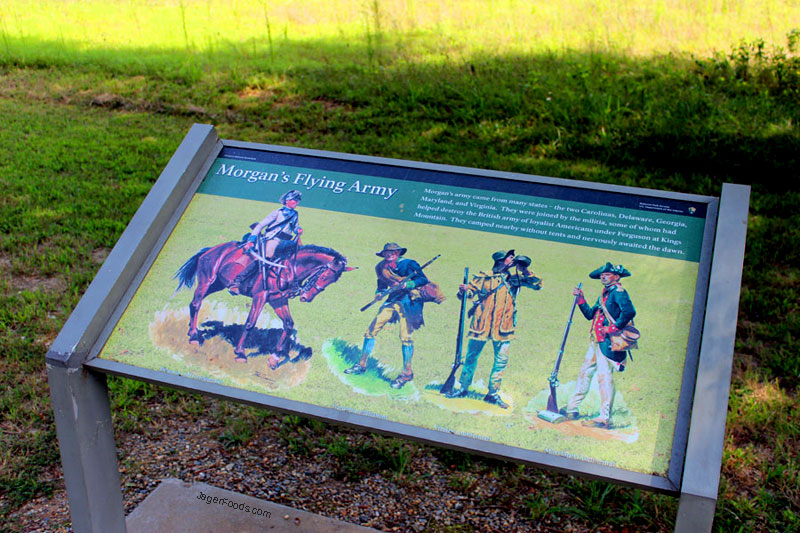 Cowpens Soldier Sign