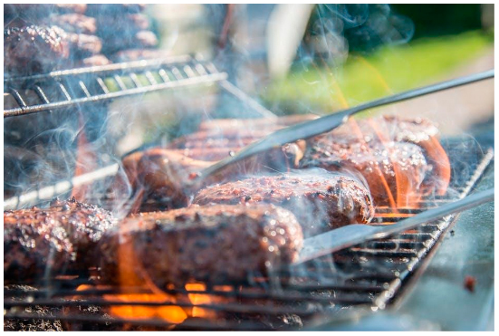 How to grill steak tips