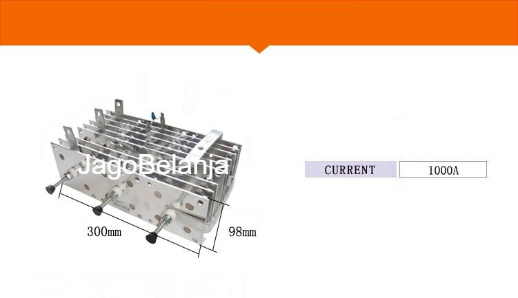 Set Dioda Rectifier 3 Phase Input 3 Fasa