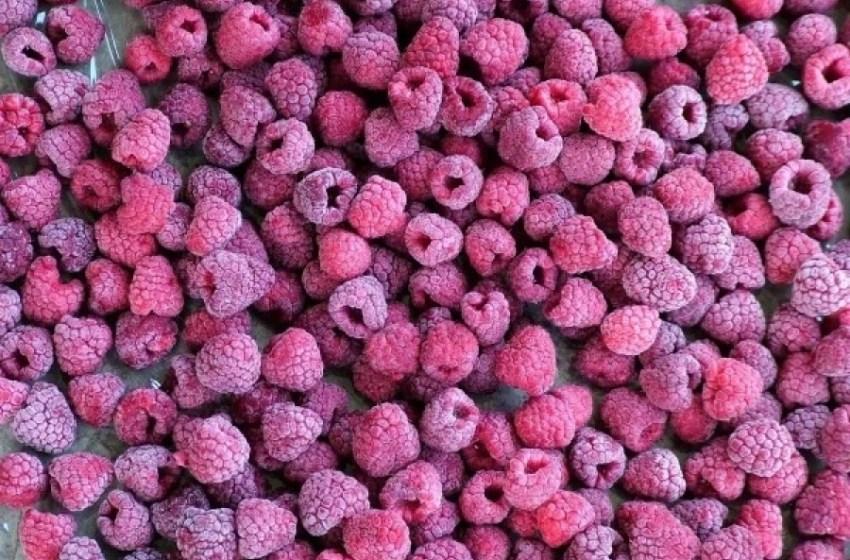 В Україні скоротився експорт замороженої малини