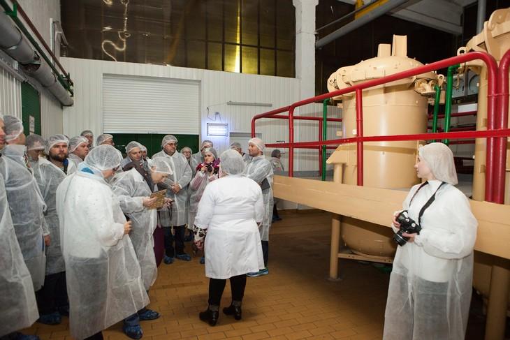 Бізнес-тур на плодово-ягідний завод «Агропереробка» та морозильні потужності «Агро Фрост Рівне»