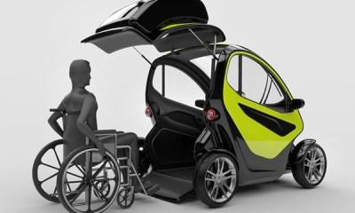 EQUAL, Mobil Stylish Untuk Penyandang Cacat
