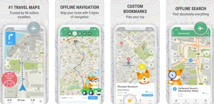 8 Aplikasi Peta Digital Selain Google Maps Untuk Android dan iOS