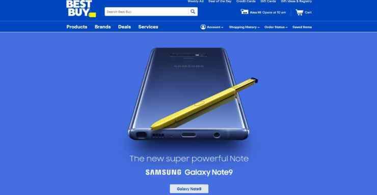 Resmi Dirilis, Samsung Galaxy Note 9 Sudah Dapat Dibeli Disini