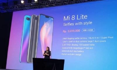 Xiaomi Mi 8 Lite Resmi Menjajal Pasar Indonesia, Bagaimana Spesifikasi dan Harganya?