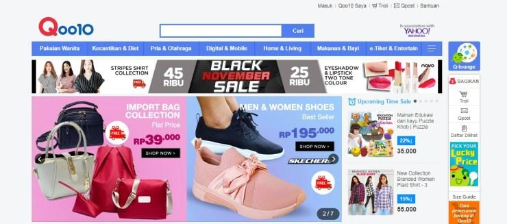 Situs Belanja Online atau E-Commerce Terbaik dan Terpopuler di Indonesia