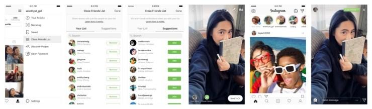 Stories Instagram Kini Hanya Hanya Dapat Dibagi ke Teman Dekat