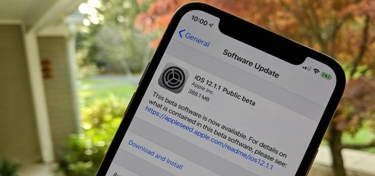 Update iOS 12.1.1: Perbaikan Masalah Kamera Saat Gunakan Facetime