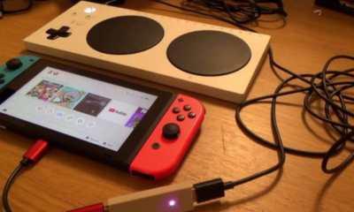 YouTuber Ini Bisa Buat Microsoft Adaptive Controller Bekerja di Nintendo Switch