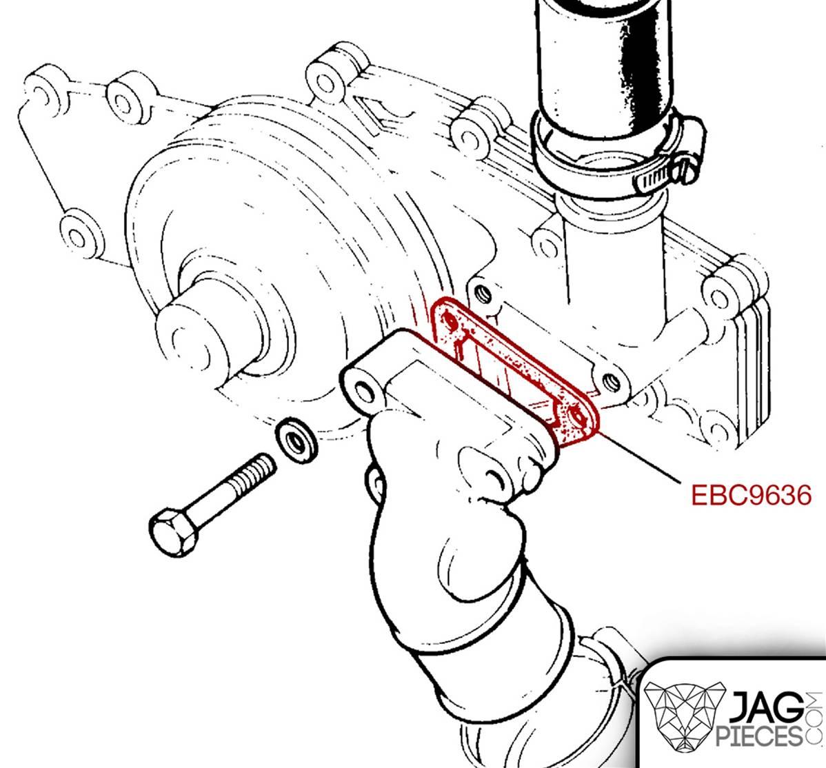Joint De Plaque D Obturation Reference Ebc De Jaguar