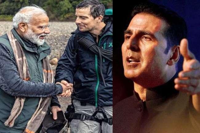 Man Vs Wild में PM Narendra Modi आज, जानिए क्या बोले 'ख़तरों के खिलाड़ी' Akshay Kumar...