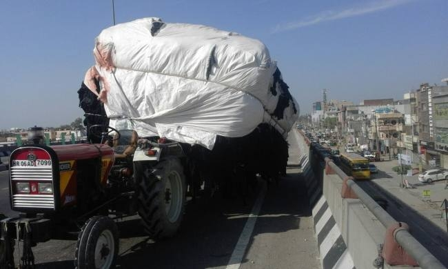 Image result for overloaded vehicles tractor panipat