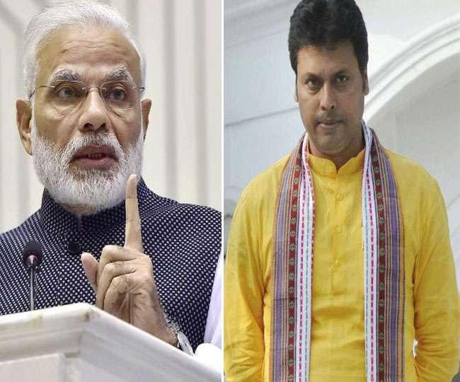 विवादास्पद बयानों को लेकर बिप्लब देब से नाराज PM मोदी, 2 मई को मिलने बुलाया