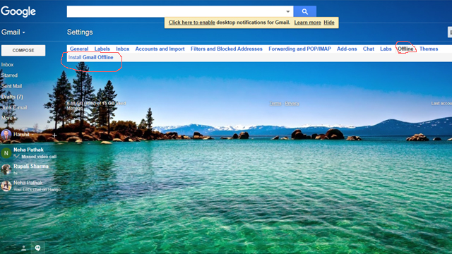 Bina internet ke email check kaise kare