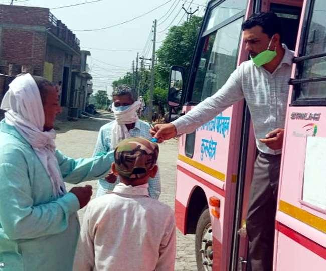ट्रेनों के बाद अब रोडवेज बसों में ओपीडी, कुरुक्षेत्र में इलाज भी शुरू