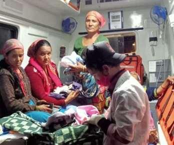 टिहरी जनपद के कीर्तिनगर क्षेत्र में एक गर्भवती महिला ने तीन बच्चों को जन्म दिया है।