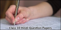 Class 10 Hindi Courses A and B Previous Question Papers