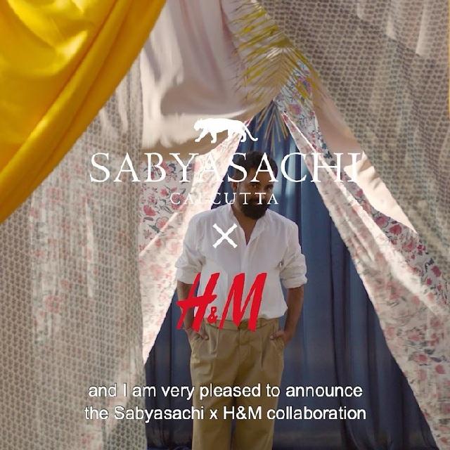 H&M and Sabyasachi