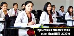 Top Medical Entrance Exams other than NEET 2019