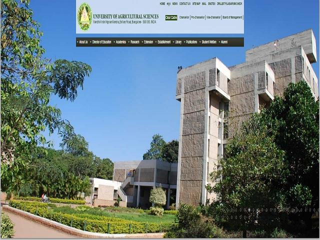 UAS Bengaluru Director, Registrar and Other Posts 2020