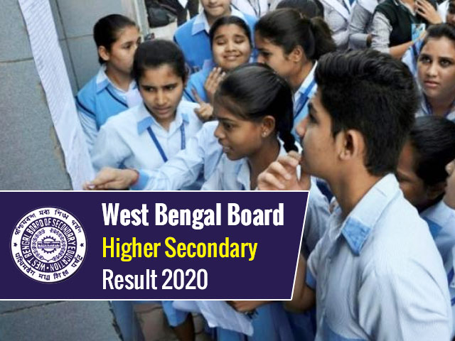 WBCHSE Result 2020 Date: West Bengal Higher Secondary (HS) Results