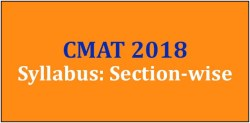 CMAT 2019 Syllabus: Section-wise