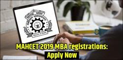 MAHCET 2019 MBA Registrations