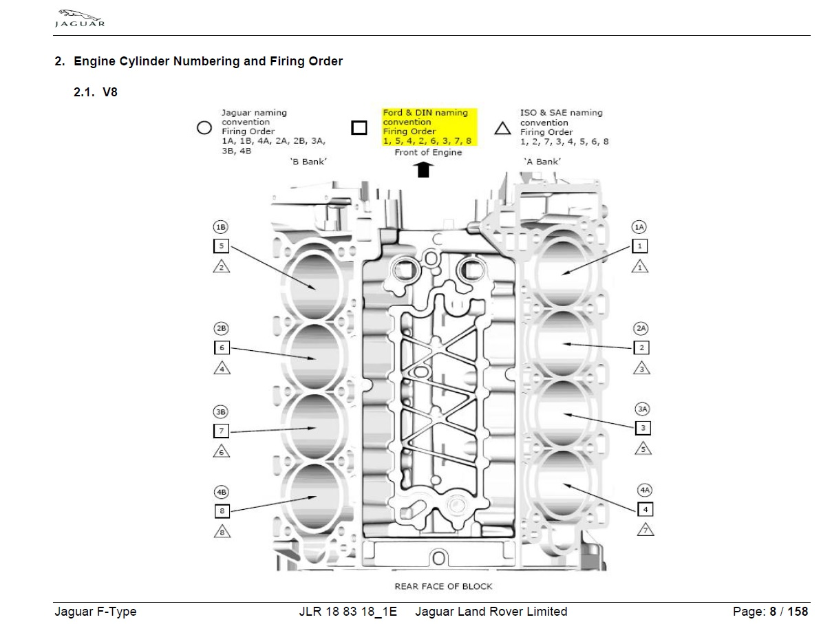 2 4 Engine Firing Order Diagram
