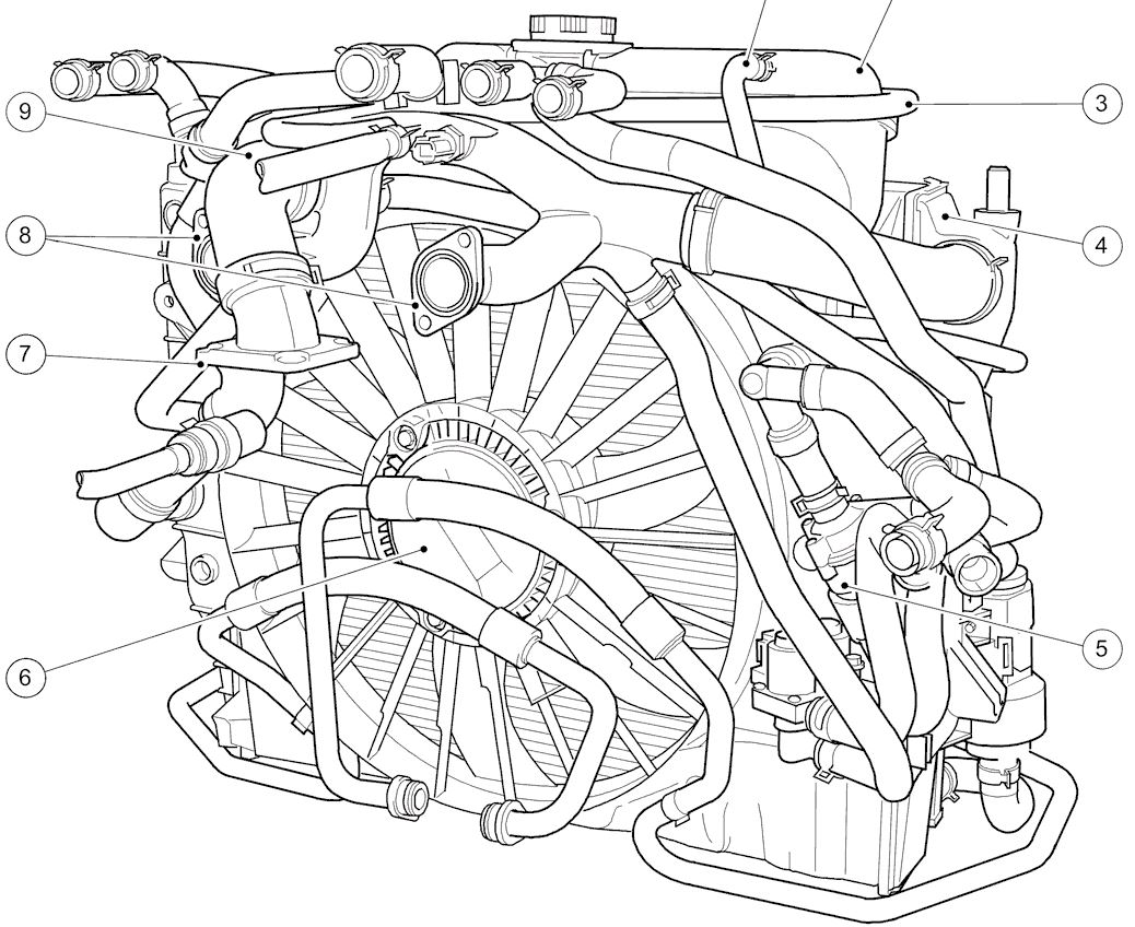Jaguar Xj8 Cooling System Diagram