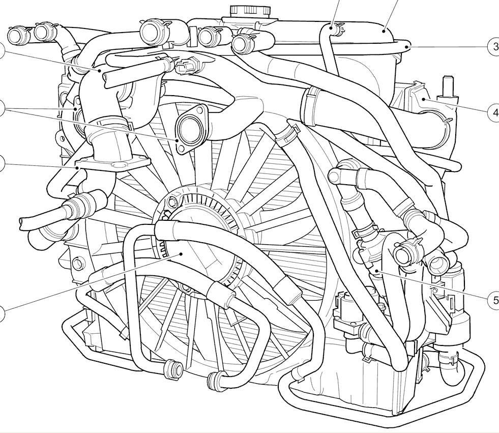 Str coolant hoses jaguar s jaguar enthusiasts rh jaguar s 2003 jaguar engine diagrams jaguar cooling system parts