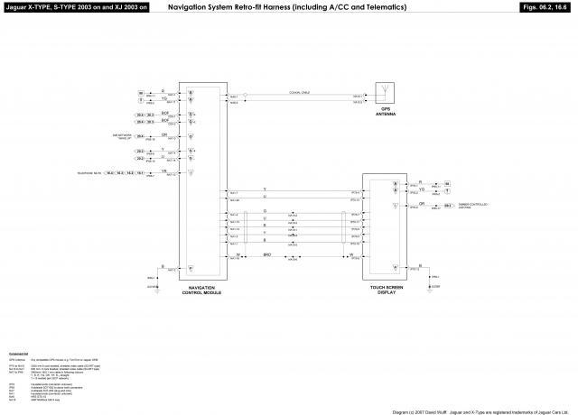 jaguar type radio wiring diagram audio harness