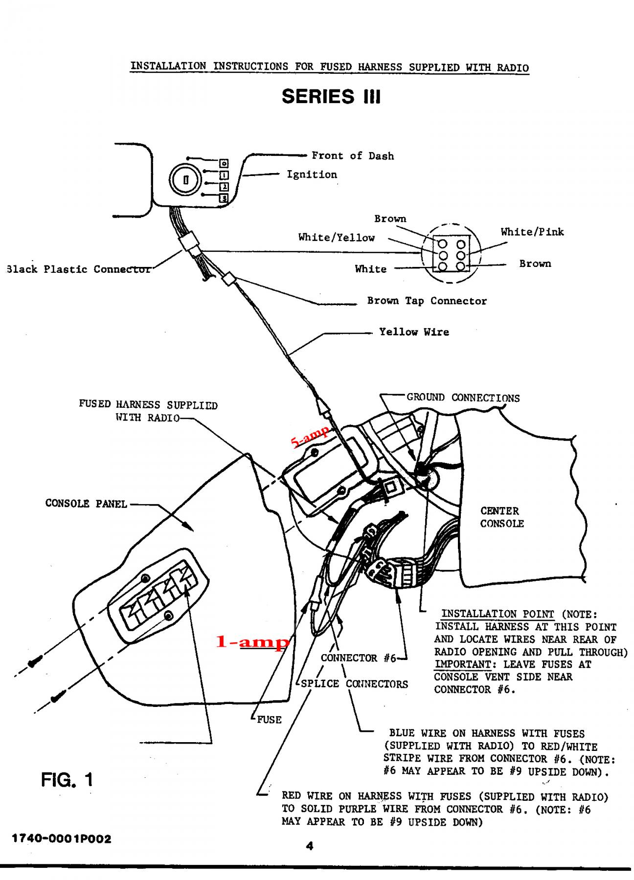 Radio Line Fuse Location