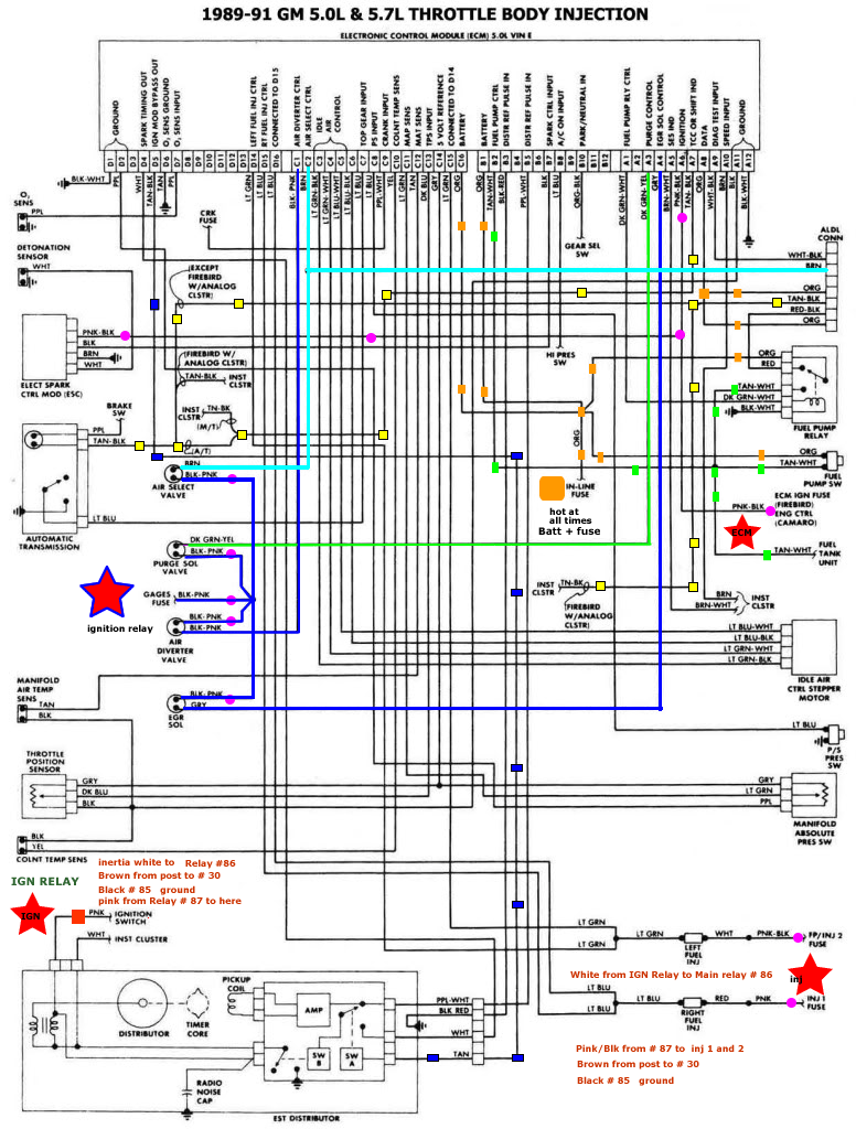 77 Chevy 350 Distributor Wiring Diagram Trusted Diagrams Accel Dual Point 43 Firing Order