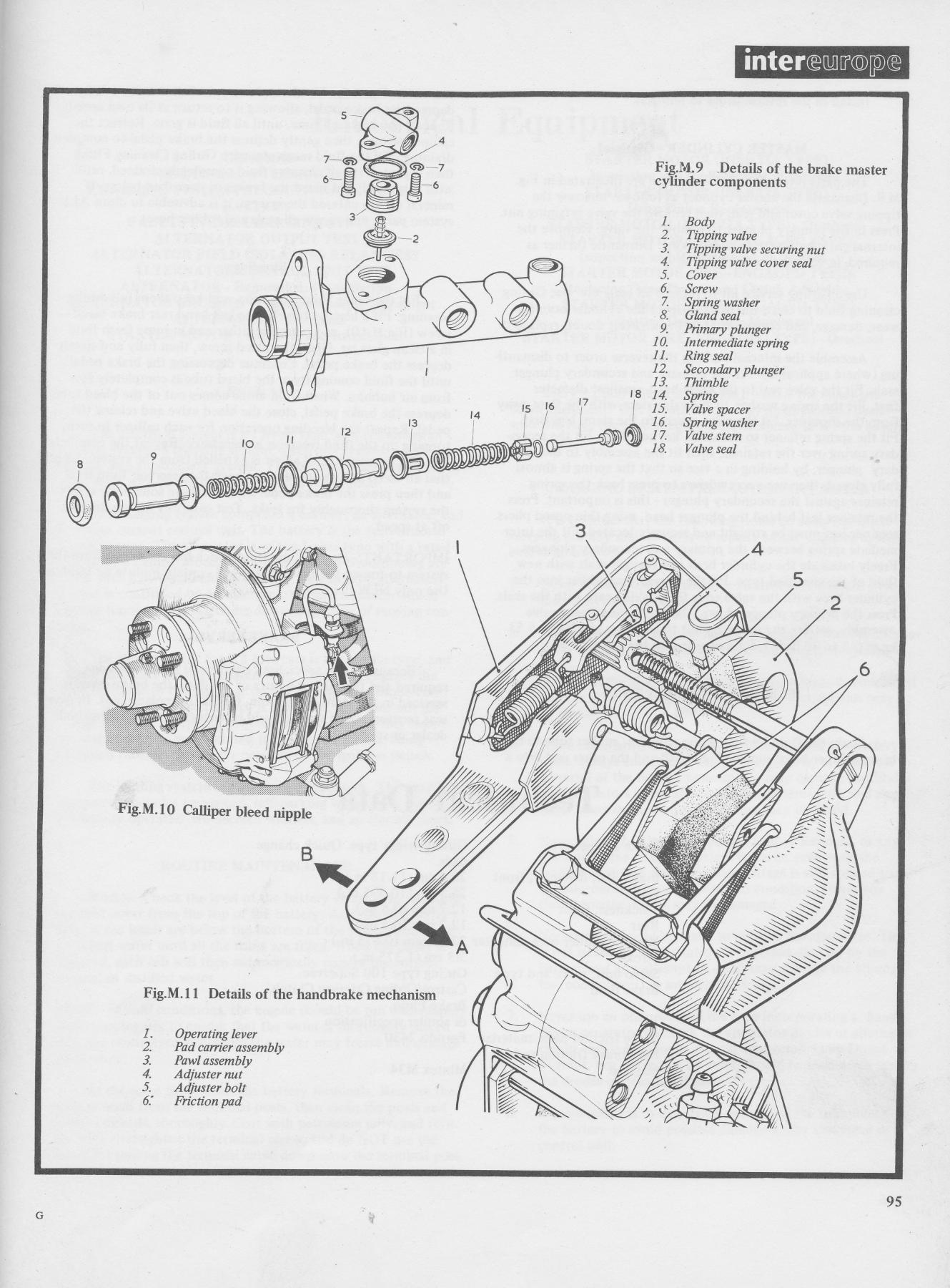 Xj6 Brakes Handbrake
