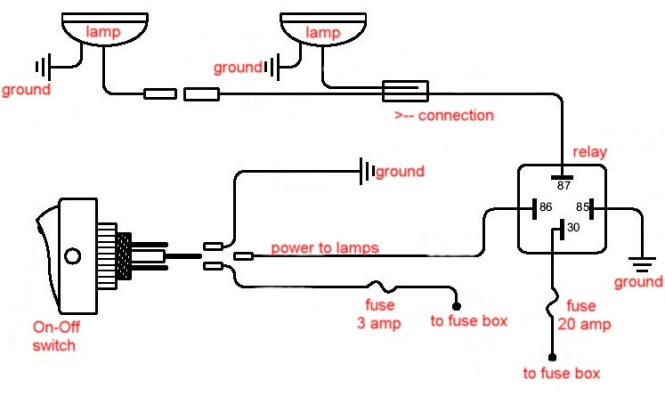wiring diagram motorcycle fog lights wiring image bosch fog light relay wiring diagram wiring diagram on wiring diagram motorcycle fog lights