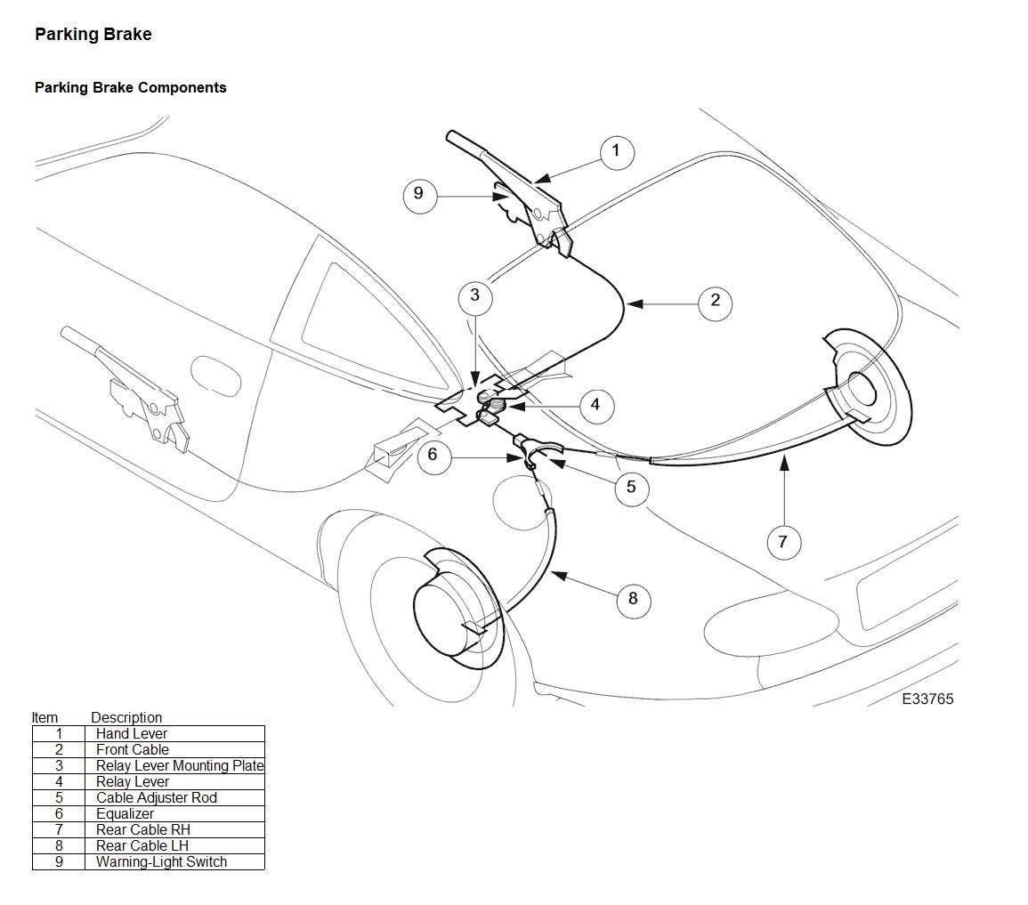99 Xk8 Parking Brake On Light Stays On