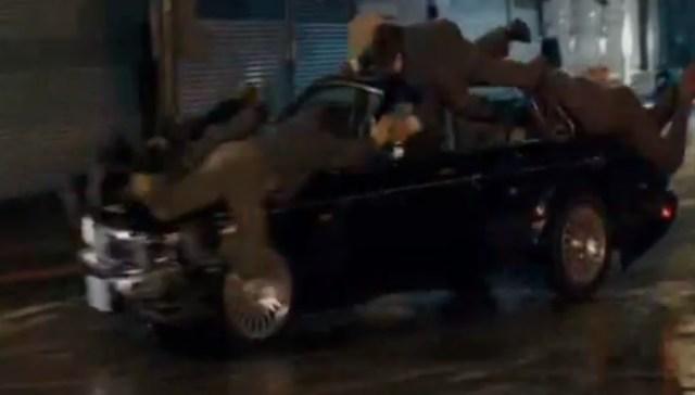 Jaguar Chase Scene
