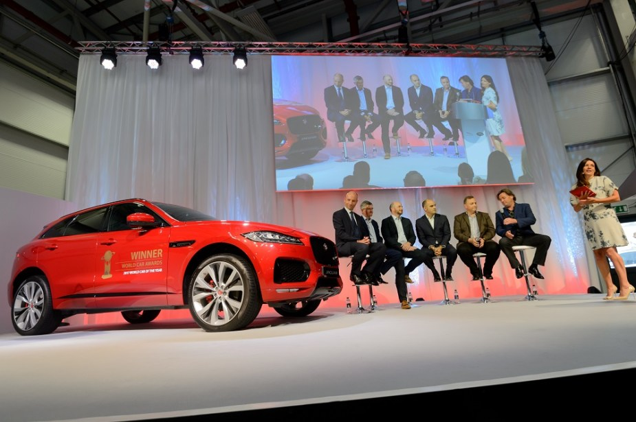 Jaguarforums.com Jaguar F-PACe World Car of the Year Award 2017