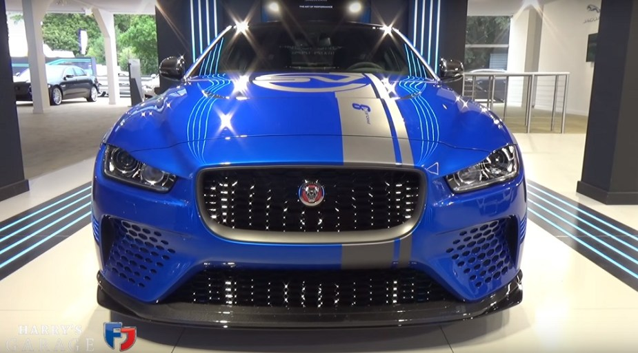 Jaguarforums.com Jaguar XE SV Project 8 Harry Metcalfe Harry's Garage Walkaround Explanation Details Goodwood Festival of Speed 2017